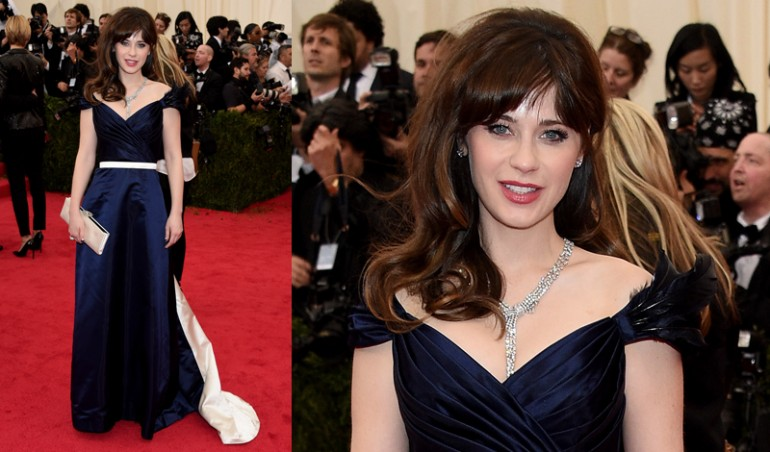 Met Ball 2014: Zooey Deschanel