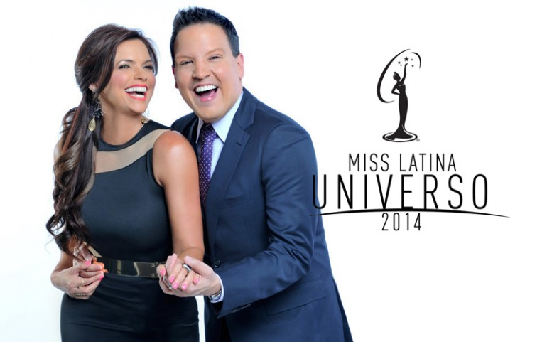 'Miss Latina Universo' Hosts Rashel Diaz And Raúl González