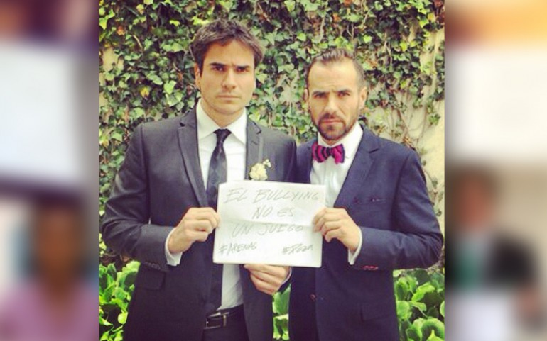 'Bullying Is Not A Game' Campaign: Daniel Arenas, Jorge Poza