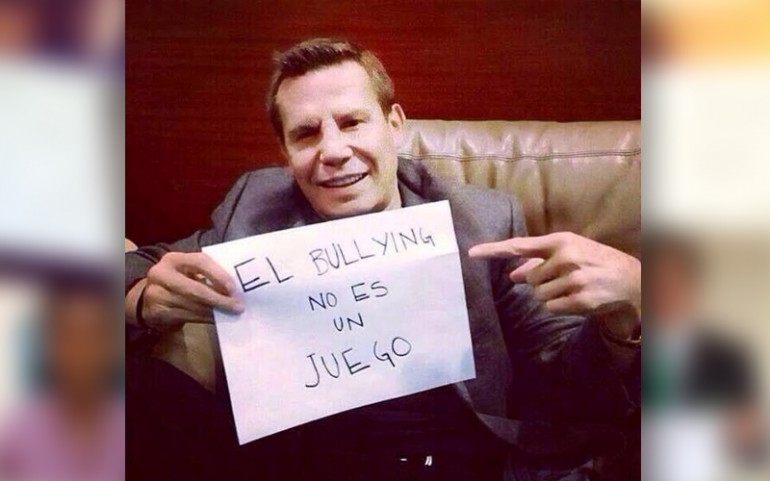 'Bullying Is Not A Game' Campaign: Julio Cesar Chávez