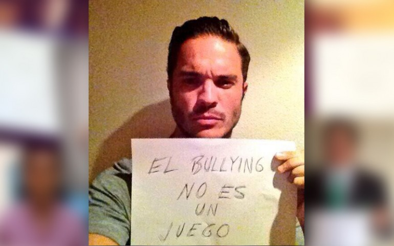 'Bullying Is Not A Game' Campaign: Kuno Becker