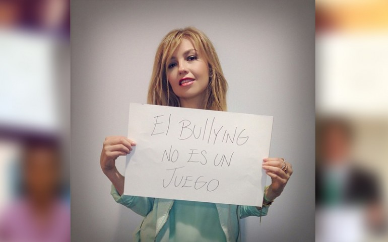 'Bullying Is Not A Game' Campaign: Thalia