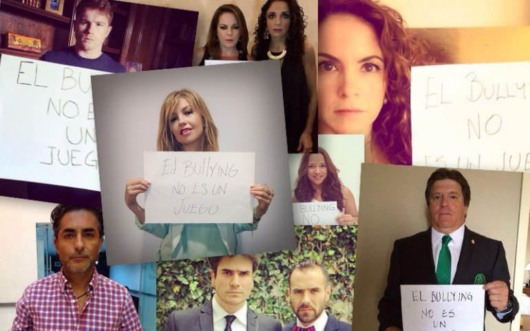 Celebrities Join Forces For Anti-Bullying Campaign