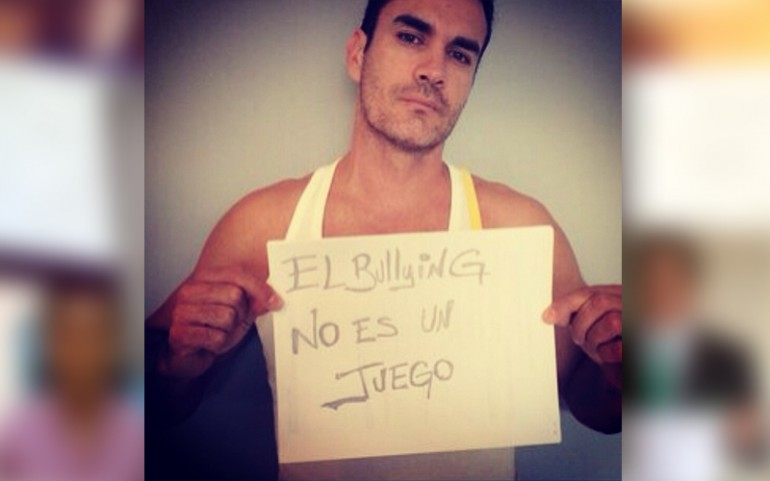 'Bullying Is Not A Game' Campaign: David Zepeda