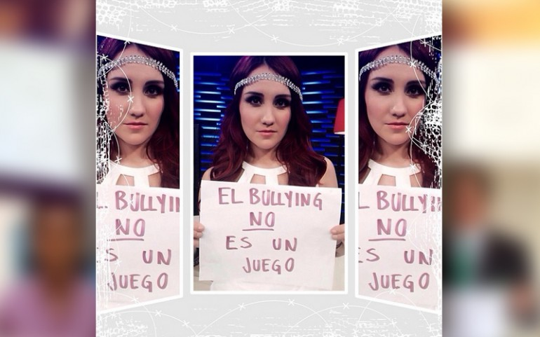 'Bullying Is Not A Game' Campaign: Dulce María