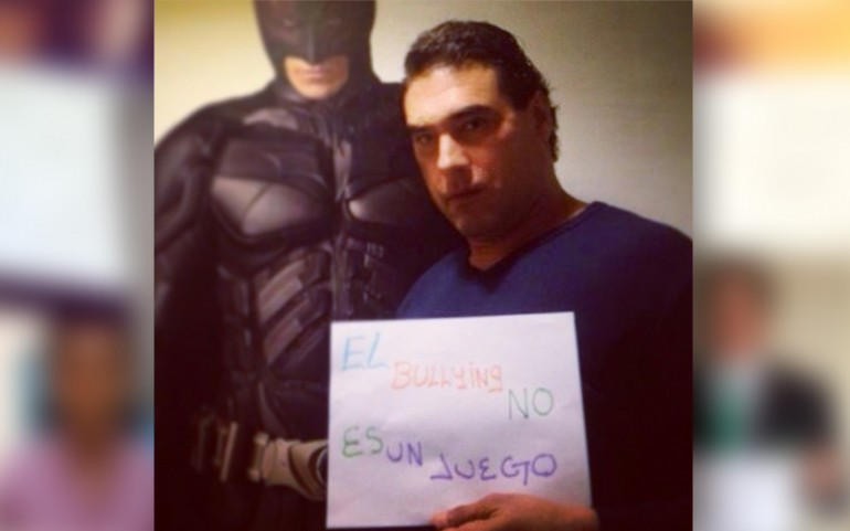 'Bullying Is Not A Game' Campaign: Eduardo Yañez