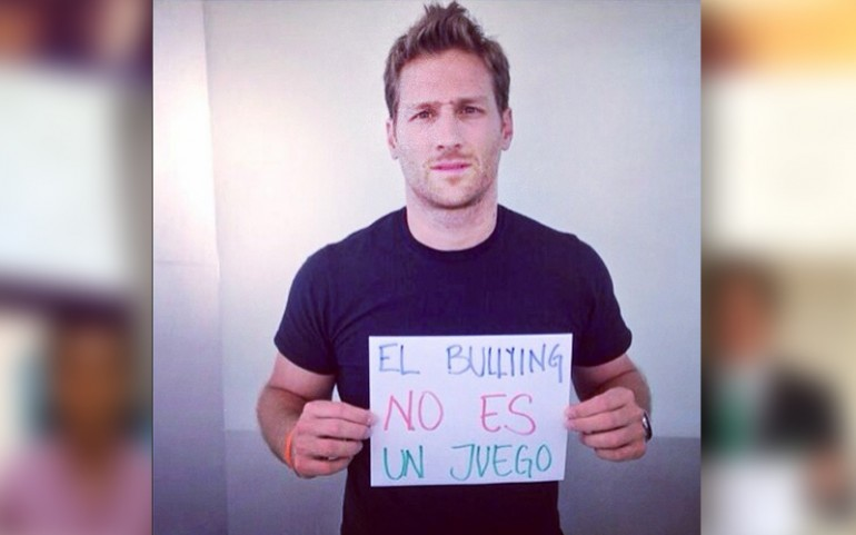 'Bullying Is Not A Game' Campaign: Juan Pablo Galavis