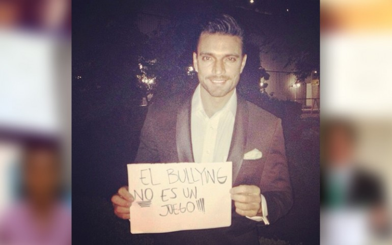 'Bullying Is Not A Game' Campaign: Julián Gil