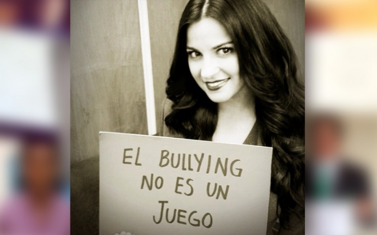 'Bullying Is Not A Game' Campaign: Maite Perroni
