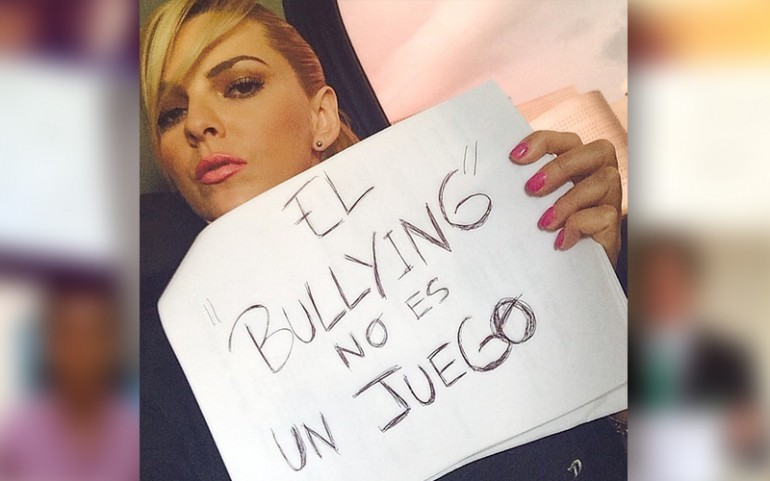 'Bullying Is Not A Game' Campaign: Marjorie de Sousa