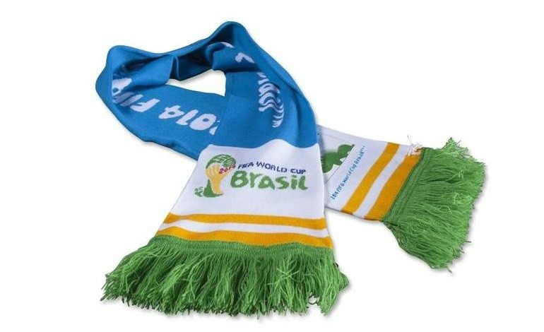 Official Licensed 2014 FIFA World Cup Scarves
