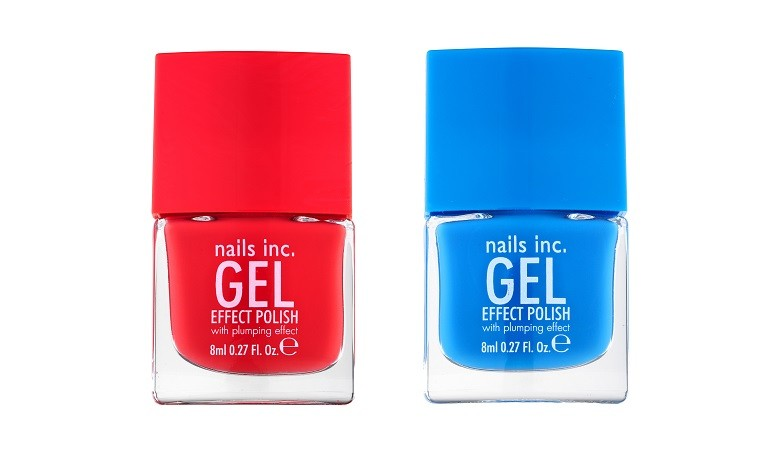 USA: Nails Inc. Gel Effect Polish in Mercer Street and Kensington Passage