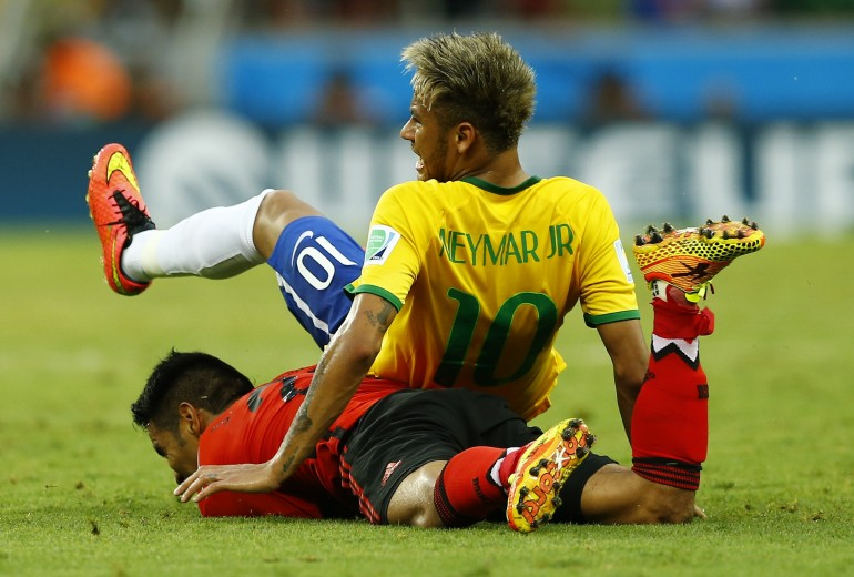 Brazil Vs. Mexico In Pictures: See Highlights Of ...