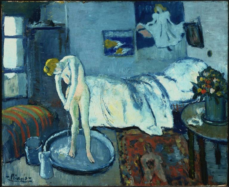 Blue Room Picasso Meaning