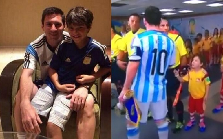 Lionel Messi Allegedly Meets Child He Ignored