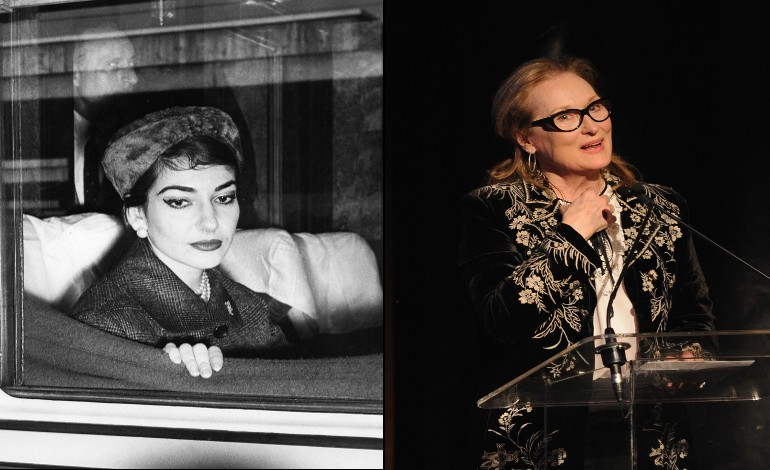 Meryl Streep Set To Play Maria Callas