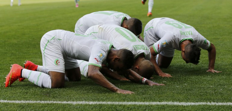 Algeria Kneels