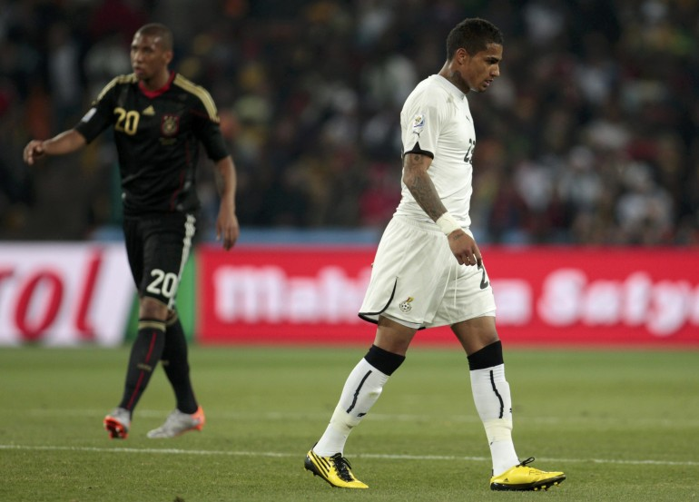 Brothers Kevin-Prince and Jerome Boateng