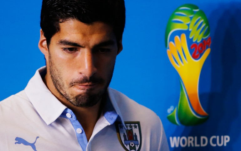 Luis Suarez Banned And Fined By FIFA!