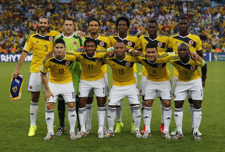 Colombia's National Soccer Team