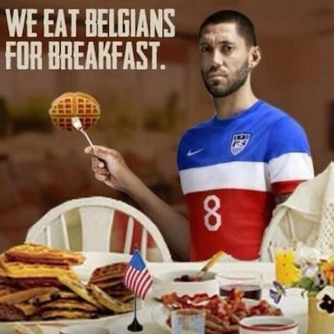 Dempsey and more waffles