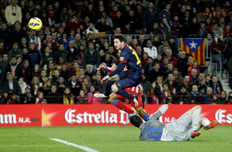 Messi and Courtois
