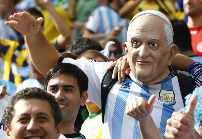 Argentina Pope Francis fan