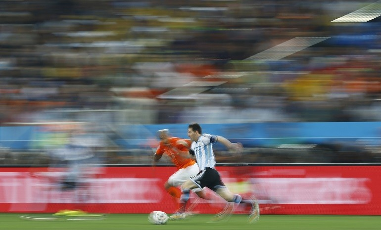 Catch Me If You Can! Argentina has never trailed.