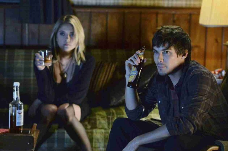 hanna and caleb dating in real life