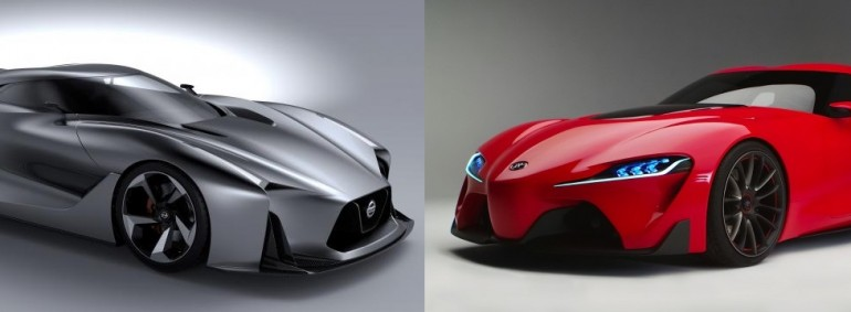 Toyota FT1 vs Nissan 2020 Concept Vision GT