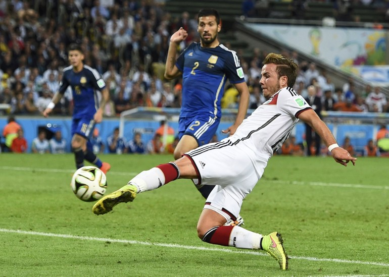 #1 Mario Goetze Wins It For Germany