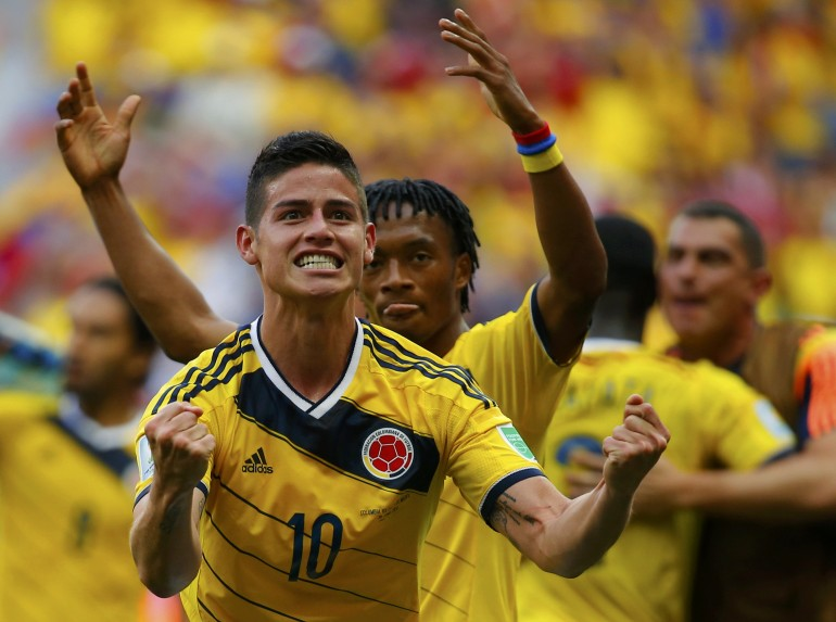 #3 James Rodriguez's Coming Out Party!