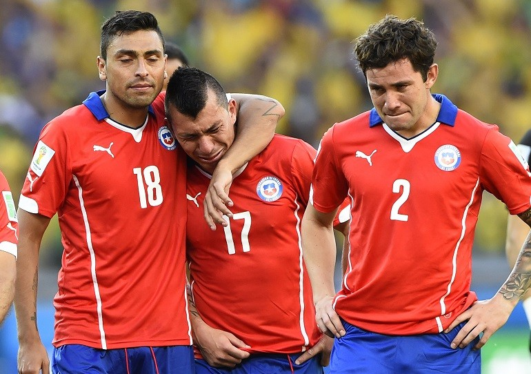 #9 Chile Sobs As Sanchez Hits the Post
