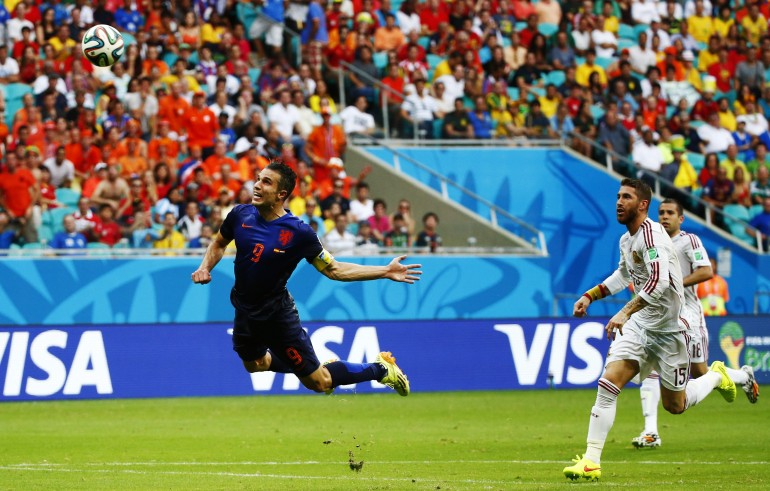 #9 Robin Van Persie's Diving Header