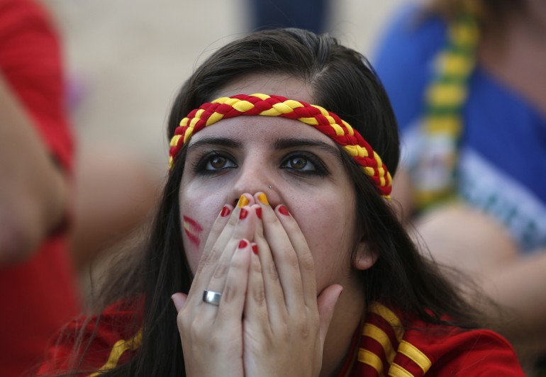 No Smiles For Spain