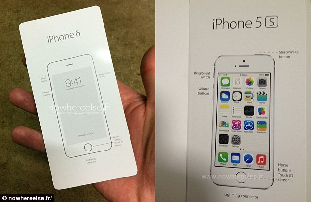 iPhone 6 release date box art