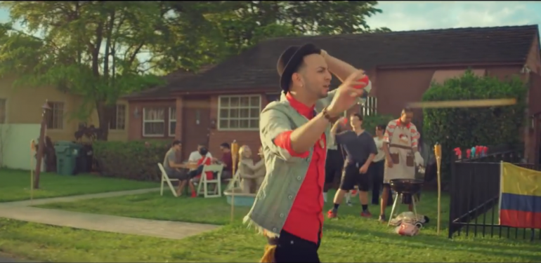 Justin Quiles, 'María' music video