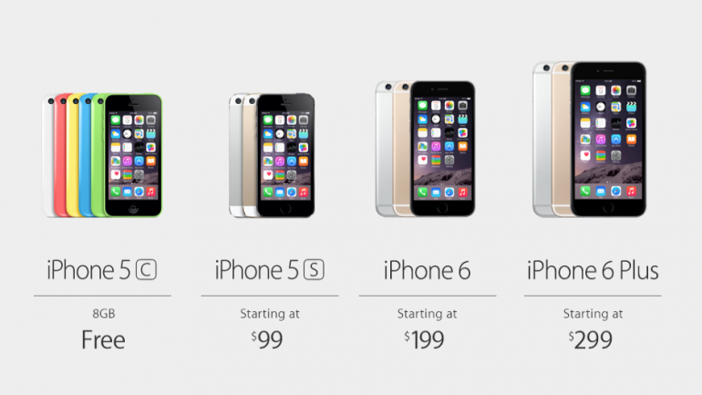 iPhone Lineup!
