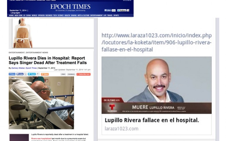 Lupillo Rivera Death Hoax!