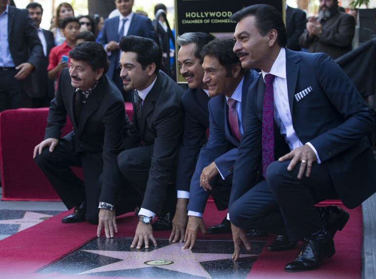 Los Tigres del Norte en Hollywood