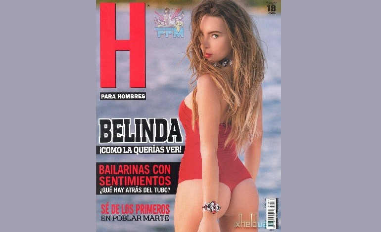 Belinda Naked Photos: Teen Idol 'Unauthorized' Nude Pic For Magazine 'H For Men' In Mexico [NSFW]