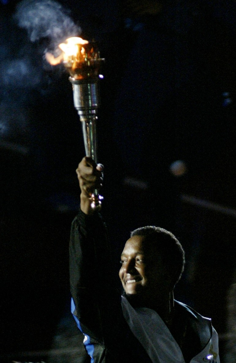 #10 Olympic Torch Bearer
