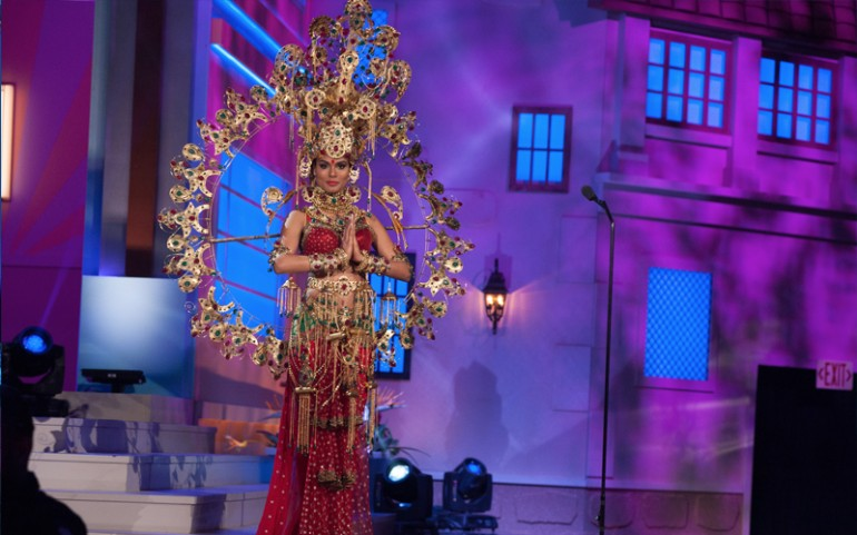 Miss Universe 2014 National Costumes: India