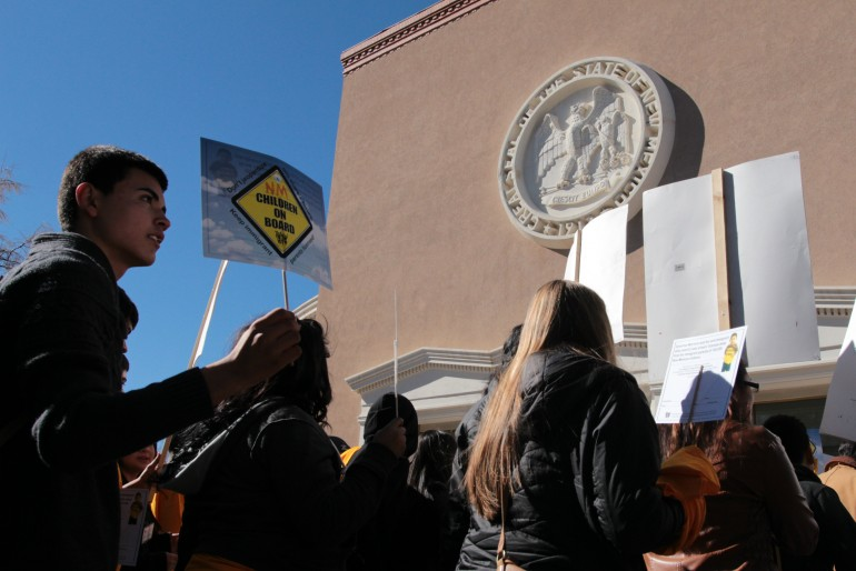 New Mexicans Protest Martinez DL Policy