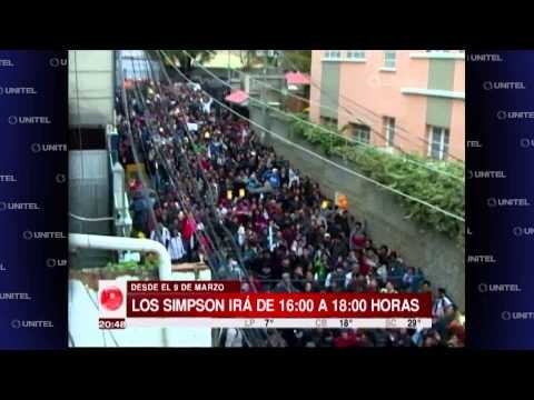 Don't They Have A Job? People In Bolivia Protest For 'The Simpsons' TV Slot