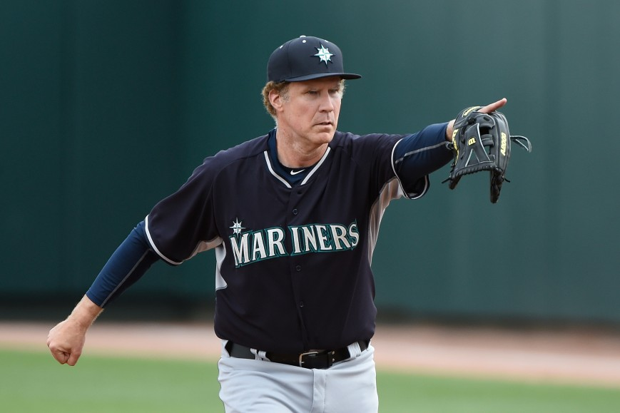 Wil Ferrell Seattle Mariners