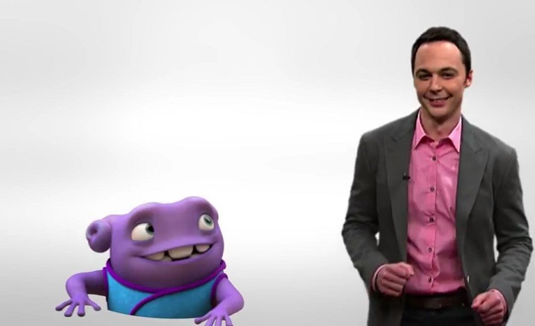 Jim Parsons In 'Boovete, Muevete' From Movie 'Home'