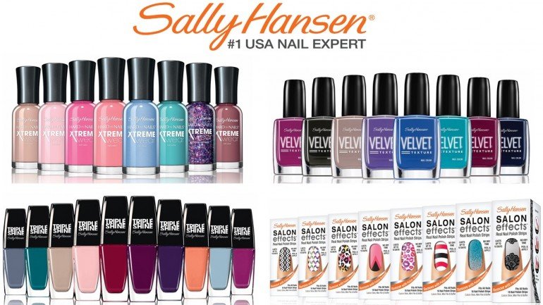 Nail Polish Colors Sally Hansen To Bend Light