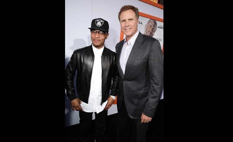 Rapper T.I. and Will Ferrell