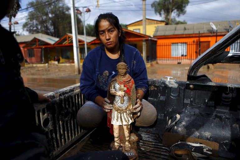 death toll in Chile rose